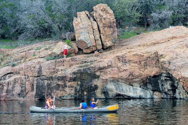 There's a Devil's Hole at Inks Lake State Park - TWO ...